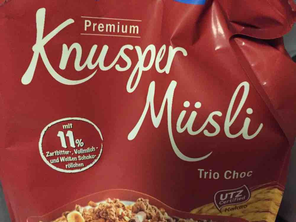 Knusper Müsli Trio Choc von Jogger62EM   Hochgeladen von: Jogger62EM