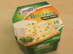 Weichkäse Cavabel, grüner Pfeffer | Hochgeladen von: Teecreme