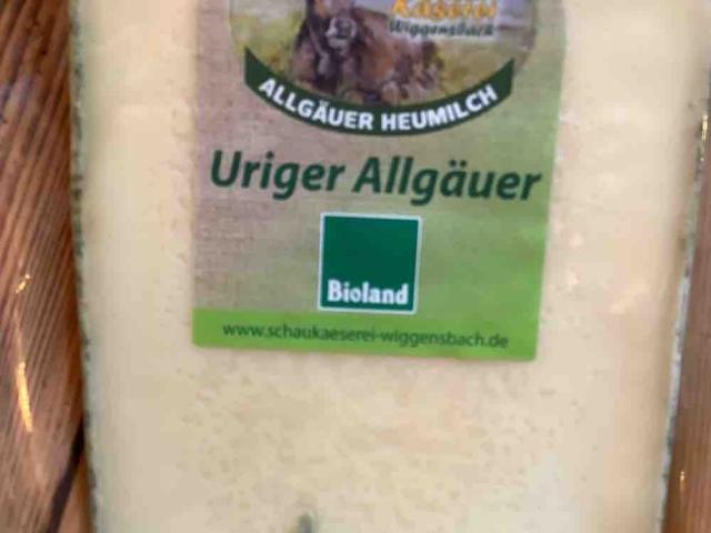 Uriger Allgäuer 50% F.i.Tr. von mai | Hochgeladen von: mai