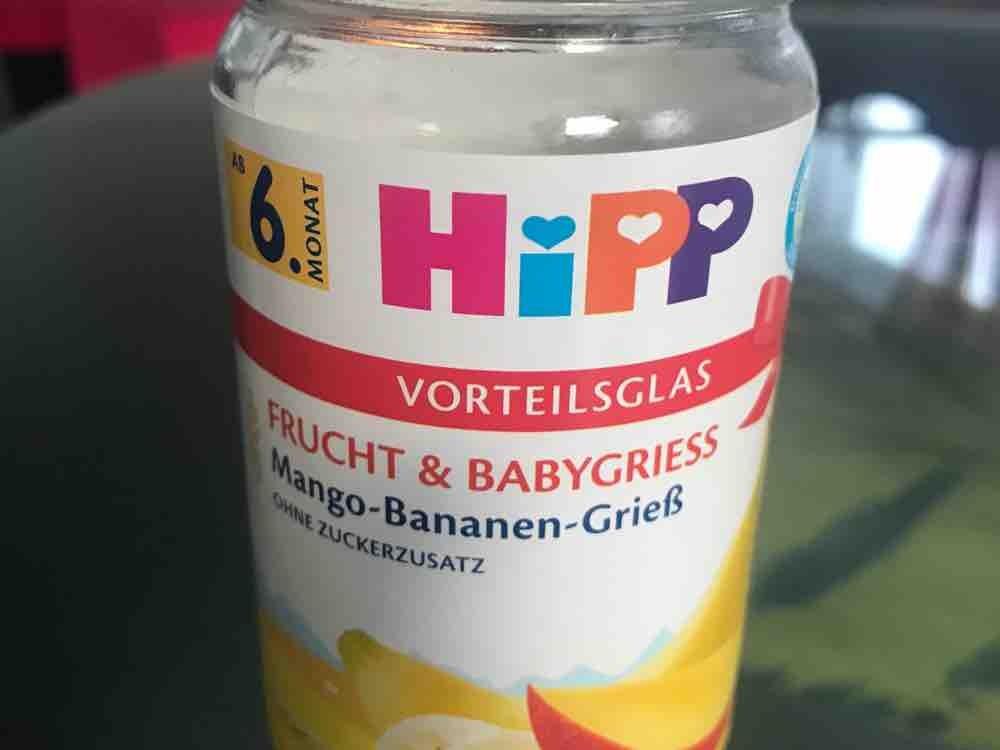 Hipp  Frucht und Babygries von pezzi | Hochgeladen von: pezzi