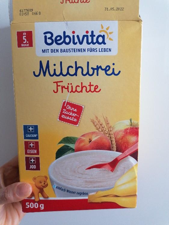 Bebivita, Milchbrei Frucht von juliagoeschljg887   Hochgeladen von: juliagoeschljg887