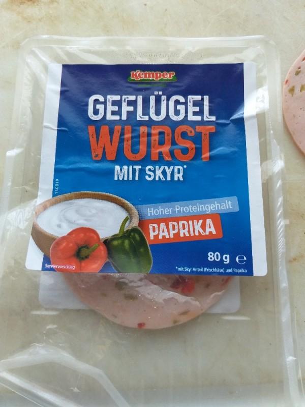 Geflügel Wurst Paprika mit Skyr von sidudi | Hochgeladen von: sidudi