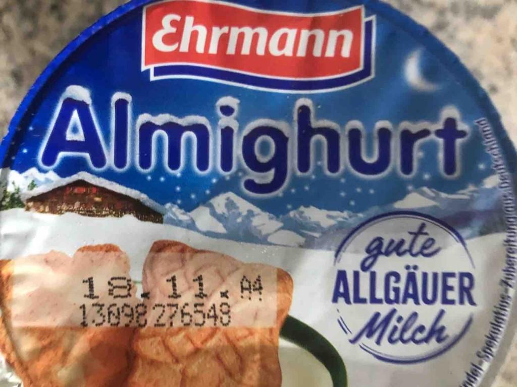 Almighurt Winterhit, Mandel-Spekulatius von chrissylgr | Hochgeladen von: chrissylgr