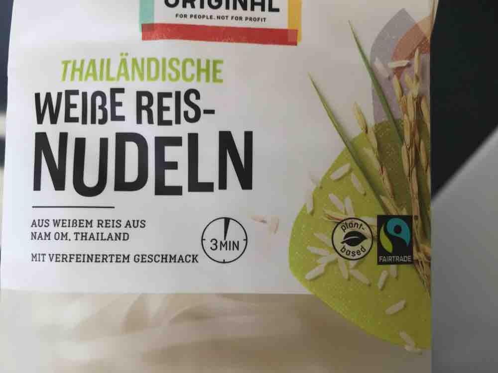 Weiße Reisnudeln von alinaxbianca | Hochgeladen von: alinaxbianca