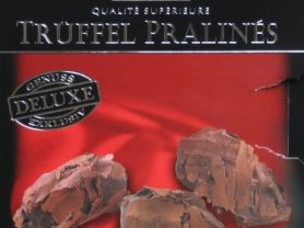 Trüffel Pralins, Zartbitterschokolade (60%)   Hochgeladen von: Heidi
