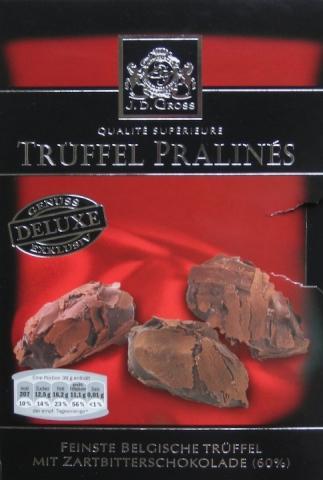 Trüffel Pralins, Zartbitterschokolade (60%) | Hochgeladen von: Heidi