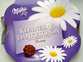 Kleines Dankeschön Pralins, Alpenmilch-Crme | Hochgeladen von: schnuppi