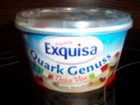 Exquisa Quarkgenuss, Dollce Vita Latte Macchiato | Hochgeladen von: Nudelpeterle 12.07.10    63 kg