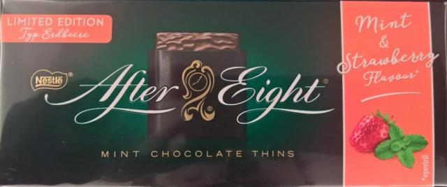 After Eight, Mint & Strawberry Flavour   Hochgeladen von: wertzui