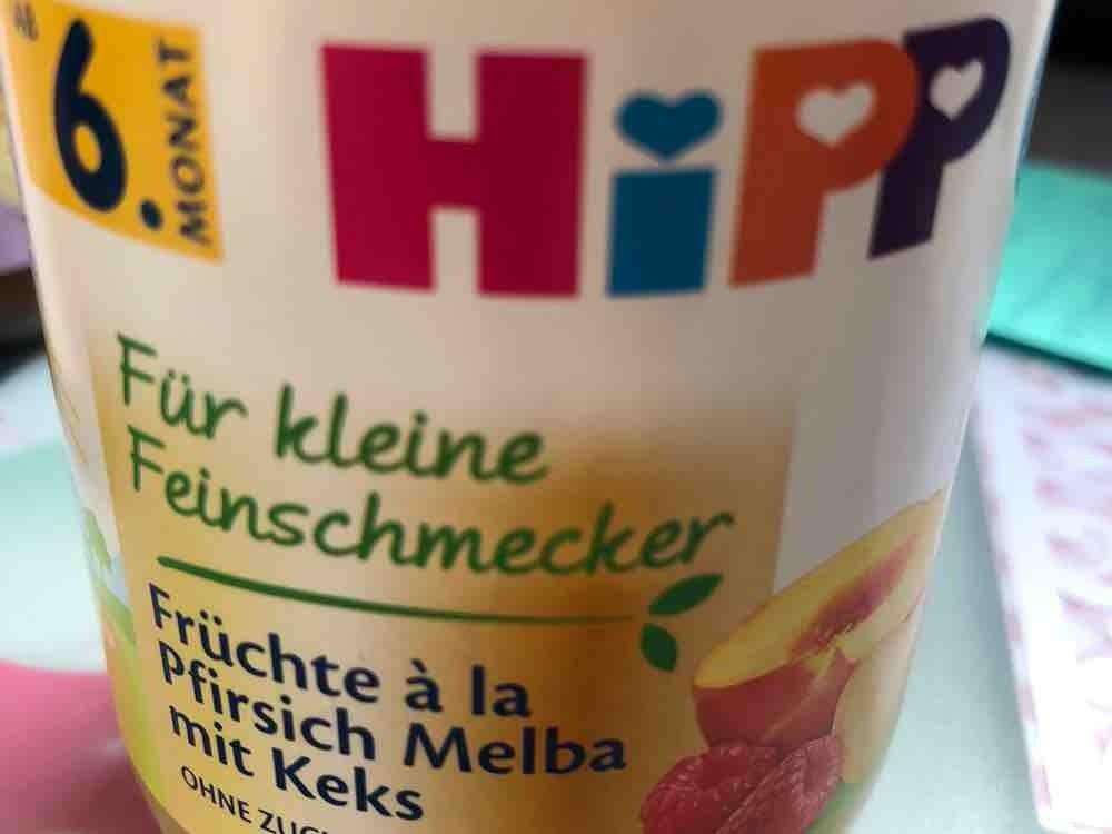 Früchte à la Pfirsich Melba mit Keks von leoniewnt | Hochgeladen von: leoniewnt
