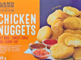 Chicken Nuggets, Mit BBQ-, Sweet Chili- und Curry Dip   Hochgeladen von: wertzui