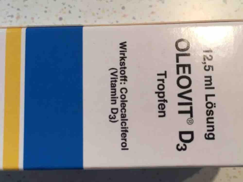 Oleovit D3 Tropfen, 12.5ml Lösung von antonb | Hochgeladen von: antonb