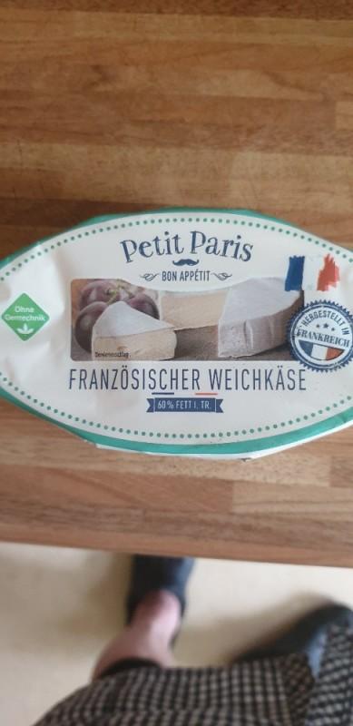 Rahm-Camembert , Französischer Weichkäse, 60% i.Tr.  von teacup22   Hochgeladen von: teacup22