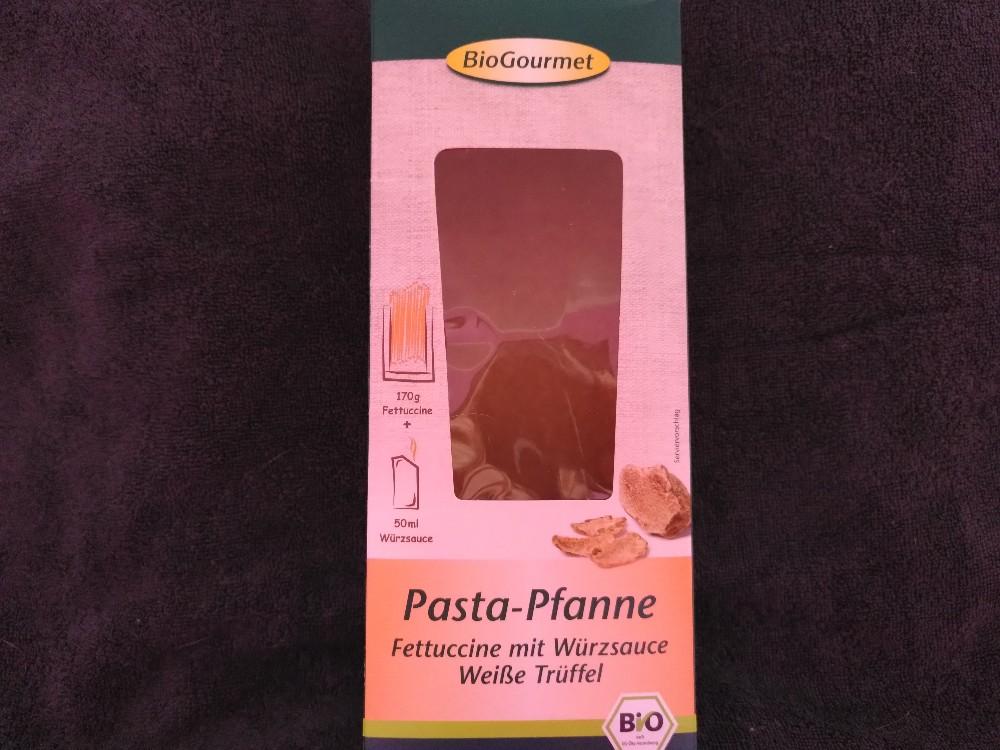 Pasta-Pfanne,, Fettuccine mit Würzsauce Weiße Trüffel von MayaZi | Hochgeladen von: MayaZi