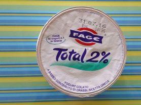 fage total 2 echter griechischer joghurt kalorien joghurt fddb. Black Bedroom Furniture Sets. Home Design Ideas