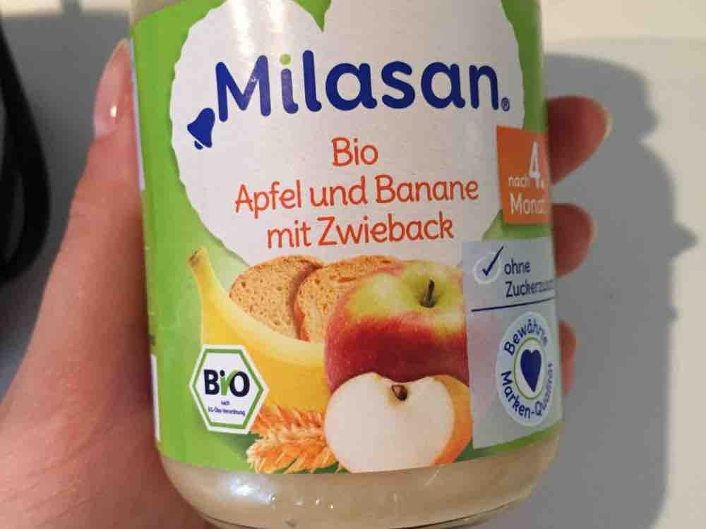 Bio Apfel und Banane mit Zwieback von FrancesJsh | Hochgeladen von: FrancesJsh
