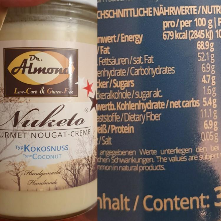 Nuketo Gourmet Nougat-Creme, Typ Kokosnuss von Pheenux | Hochgeladen von: Pheenux