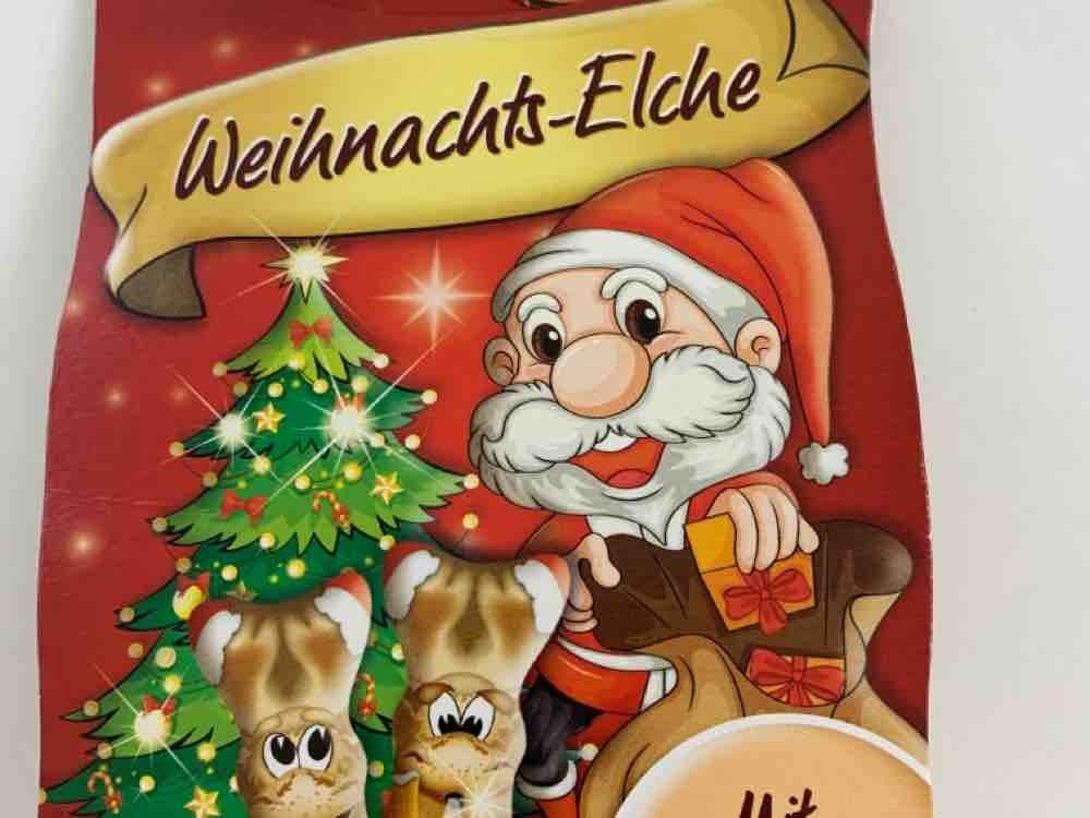 Weihnachts-Elche, Mit Nugatcreme gefüllt von Julejule | Hochgeladen von: Julejule