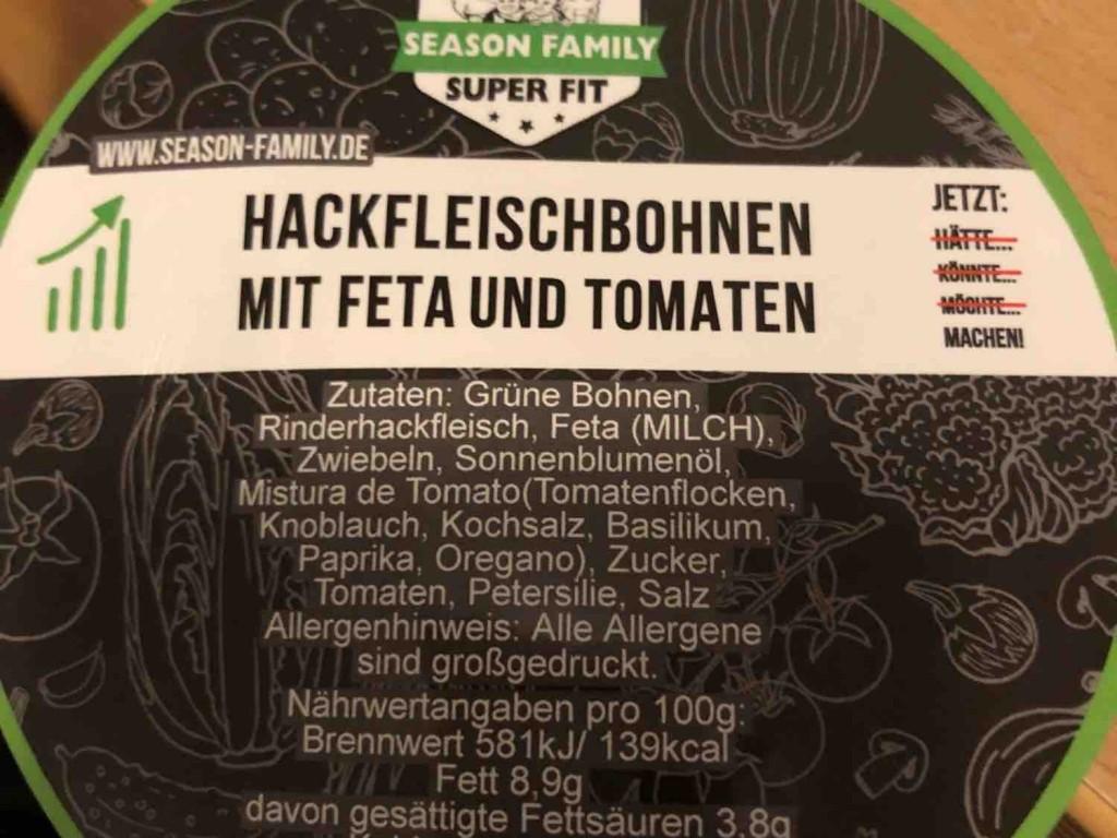 Hackfleischbohnen, mit Feta und Tomaten von storki   Hochgeladen von: storki