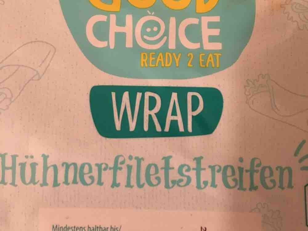 Good Choice Wrap mit Hühnerfiletstreifen von ChristianSteiner66   Hochgeladen von: ChristianSteiner66
