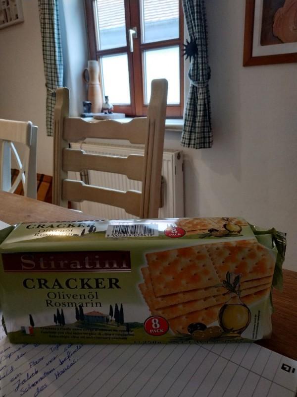 Cracker, Olivenöl Rosmarin von Henriette Perkuhn | Hochgeladen von: Henriette Perkuhn