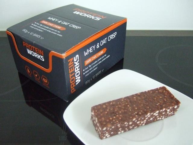 Whey & Oat Crisp Flapjack Protein Bar | Hochgeladen von: HJPhilippi
