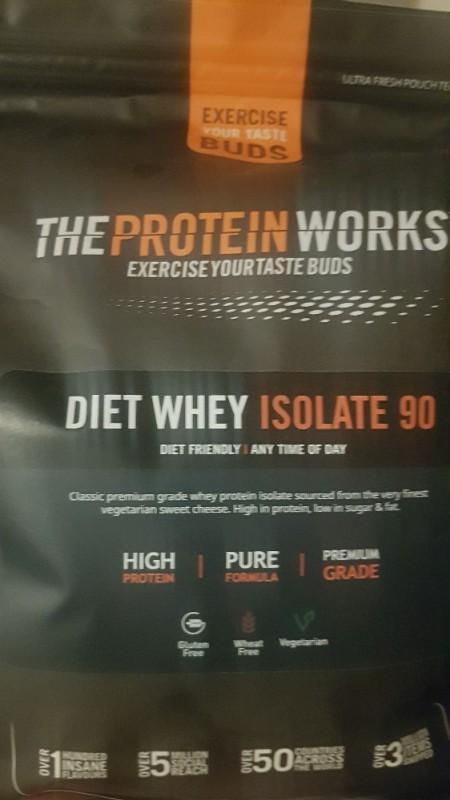 Diet Whey Isolate 90, Vanilla Crème von SusanR. | Hochgeladen von: SusanR.