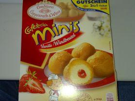 Caferteria minis Vanille-Windbeutel, Vanille & Erdbeermo | Hochgeladen von: Goofy83
