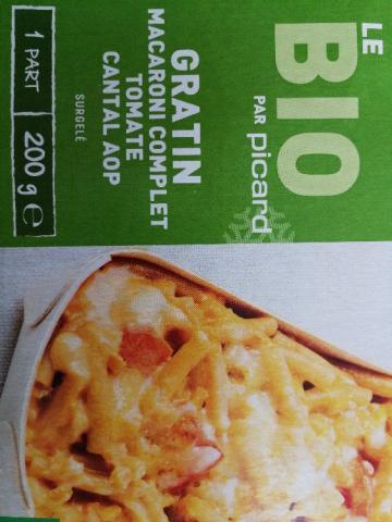 Gratin Macaroni complet, tomate, cantal AOP, bio von livharper | Hochgeladen von: livharper