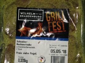 Schweine Nackensteak in Kräuterbuttermarinade 320g, Fleisch | Hochgeladen von: Dany.St