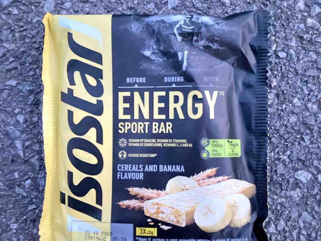 Energy Sport Bar, Cereal and Banana Flavour von Cristian15 | Hochgeladen von: Cristian15