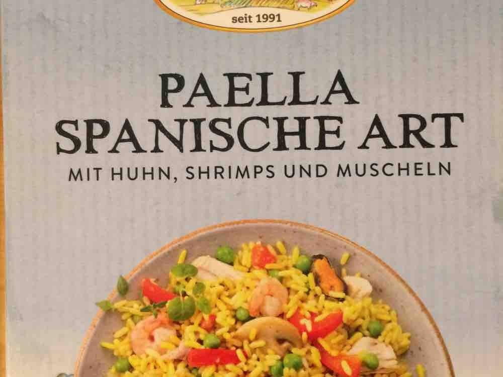 Paella Spanische Art, mit Huhn, Shrimps und Muscheln von klabim   Hochgeladen von: klabim