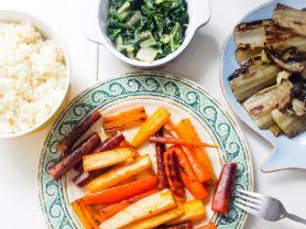 Blumenkohlreis mit Mangold Filets und bunten Möh | Hochgeladen von: julifisch