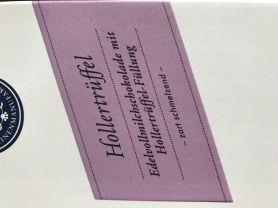 Hollertrüffel, Edelvollmilchschokolade mit Hollertrüffel-Fül | Hochgeladen von: idamante