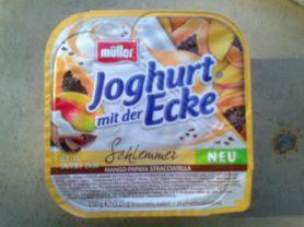 Joghurt mit der Ecke Schlemmer, Mango-Papaya Str | Hochgeladen von: sil1981