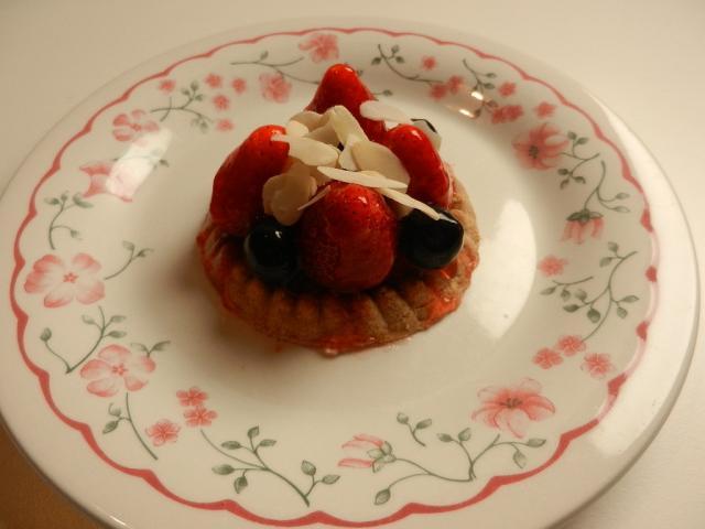 Erdbeertörtchen, Erdbeere | Hochgeladen von: maeuseturm