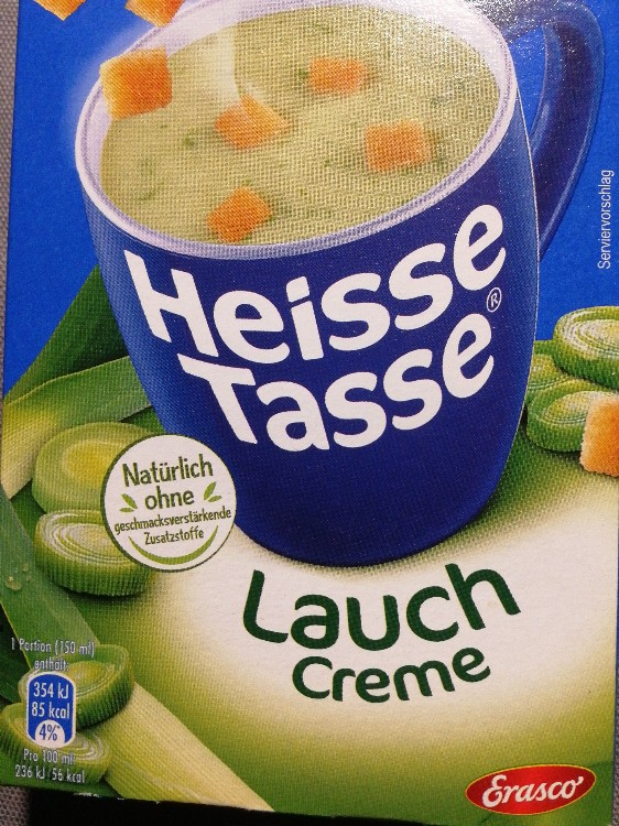 Heisse Tasse, Lauch-Creme Suppe von Brdie | Hochgeladen von: Brdie
