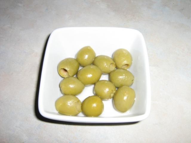 Oliven, Konserve, grün   Hochgeladen von: drehstrom