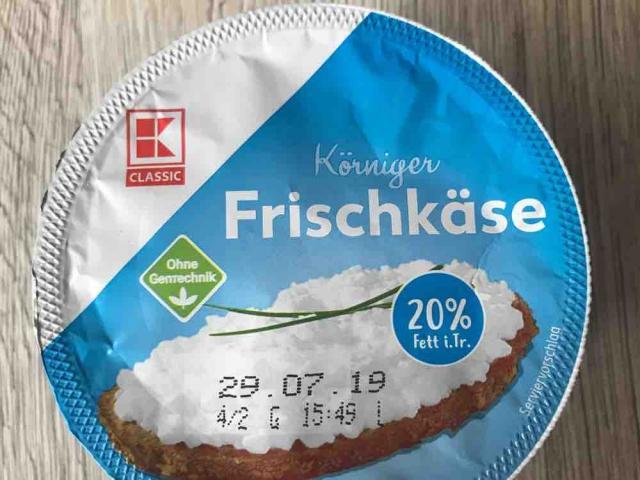 Körniger Frischkäse, 20% Fett i.Tr. von titus1403 | Hochgeladen von: titus1403