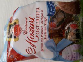 Mozart Ostereier, Pistazien-Marzipan und Haselnuss-Marzipan | Hochgeladen von: Schafgesang