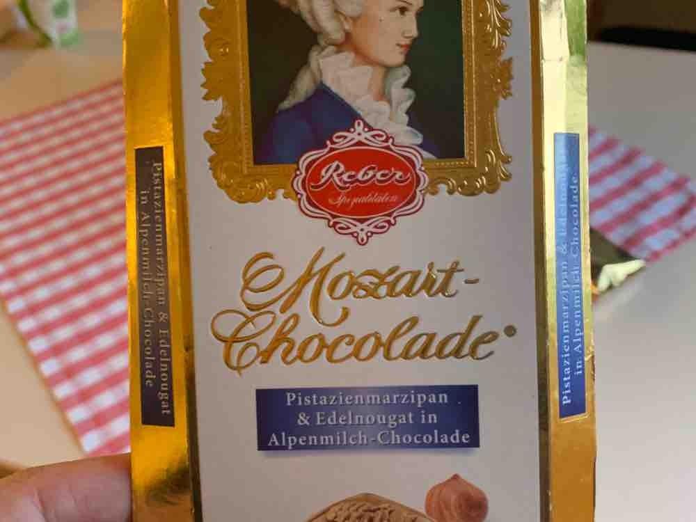 Mozart Chocolade, Pistazienmarzipan & Edelnougat von Schara | Hochgeladen von: Schara