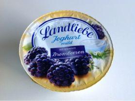 Joghurt mild, mit erlesenen Brombeeren   Hochgeladen von: darklaser