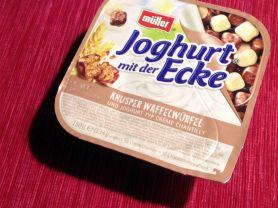 Joghurt mit der Ecke, Waffelwürfel    Hochgeladen von: swainn