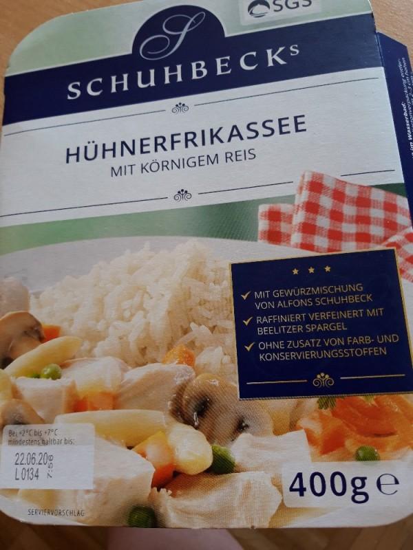 Hühnerfrikassee mit körnigem Reis von anke28475 | Hochgeladen von: anke28475