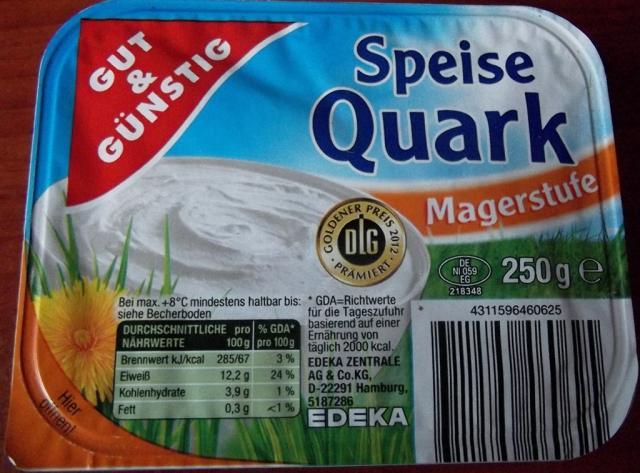 Speisequark, Magerstufe   Hochgeladen von: MarionUlm