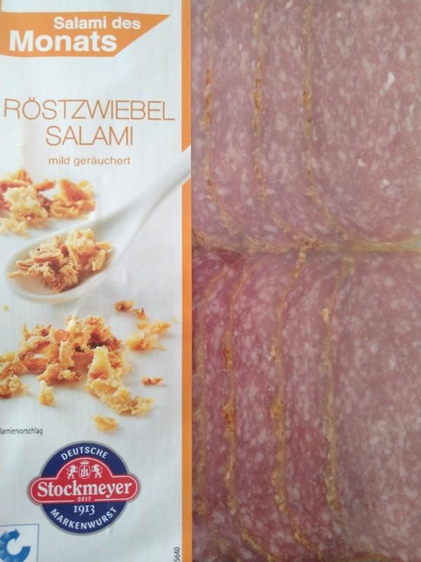 Salami des Monats, Röstzwiebelsalami von Schakaline | Hochgeladen von: Schakaline