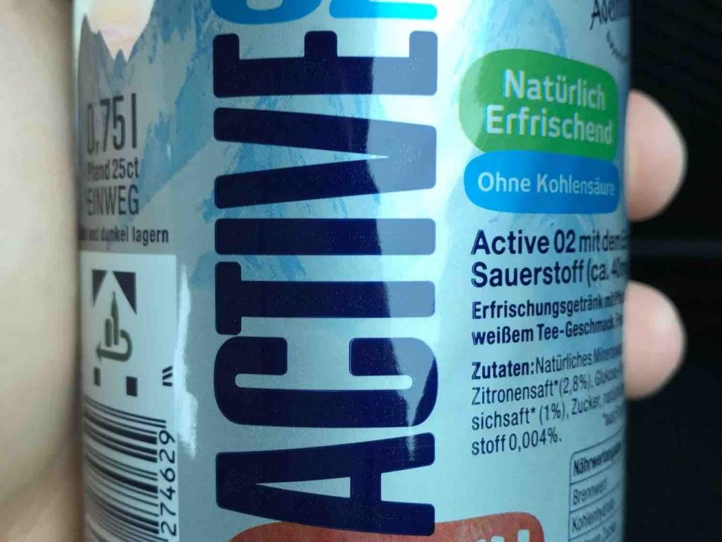 Adelholzener, Active O2, Pfirsich-Weisser Tee Kalorien - Getränke - Fddb