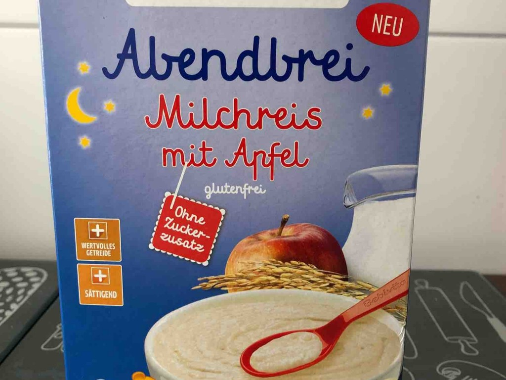 Abendbrei Milchreis mit Apfel, ohne Zuckerzusatz von Sara97 | Hochgeladen von: Sara97
