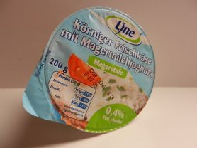 Körniger Frischkäse, mit Magermilchjoghurt   Hochgeladen von: maeuseturm