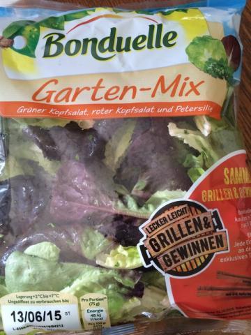 Bonduelle Garten-Mix, Grüner Kopfsalat, roter Kopfsalat und    Hochgeladen von: ryland